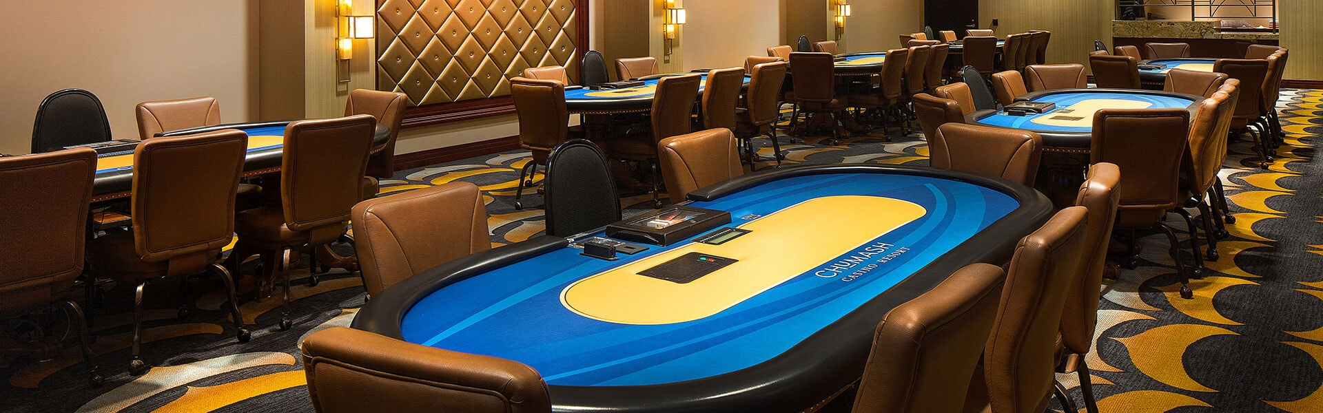 The Poker Room at Chumash Casino Resort