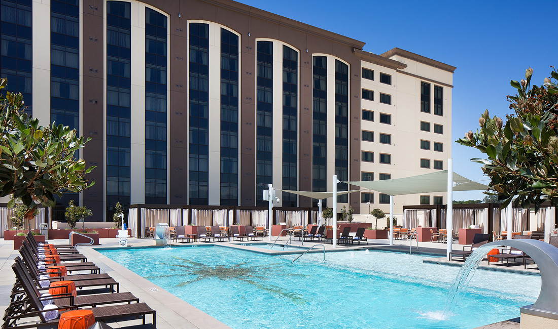 Chumash Casino Resort Pool Deck